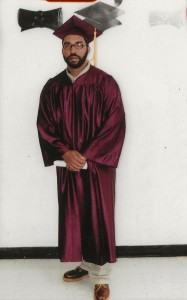 Photo of Willie Clay graduating